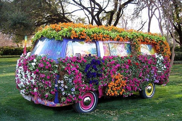 VW Microbus art
