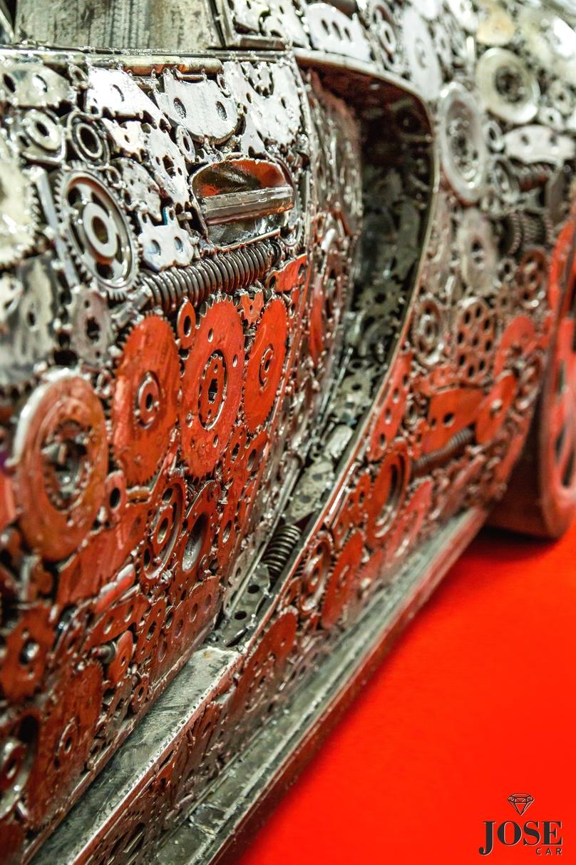 Scrap car detail