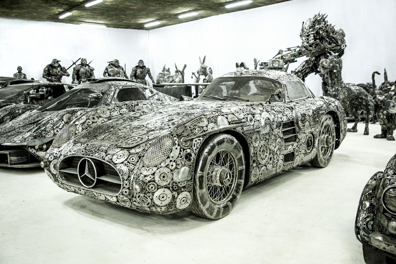 Scrap Mercedes