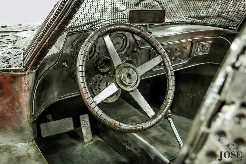 Scrap Mercedes interior