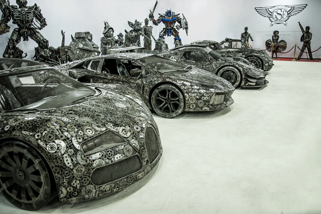 Scrap metal supercar
