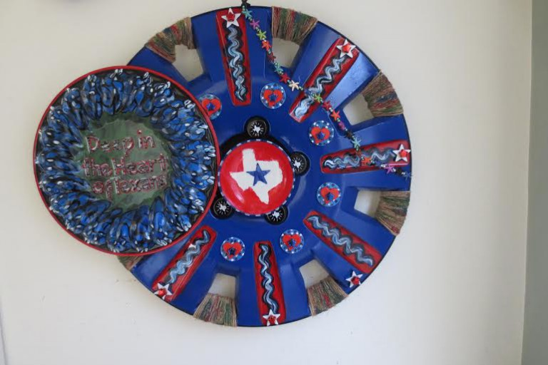 Texas hubcap